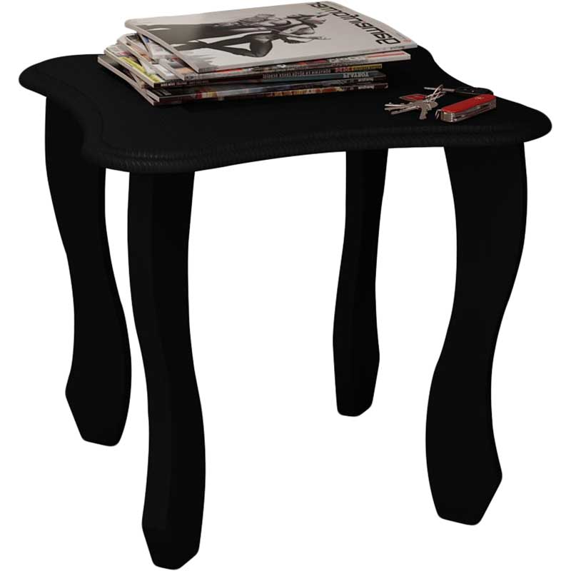 Mesa Lateral Happy - Artely Preto