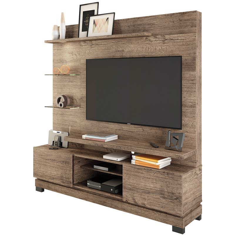 Estante Home Theater Thor - Linea Brasil Naturale