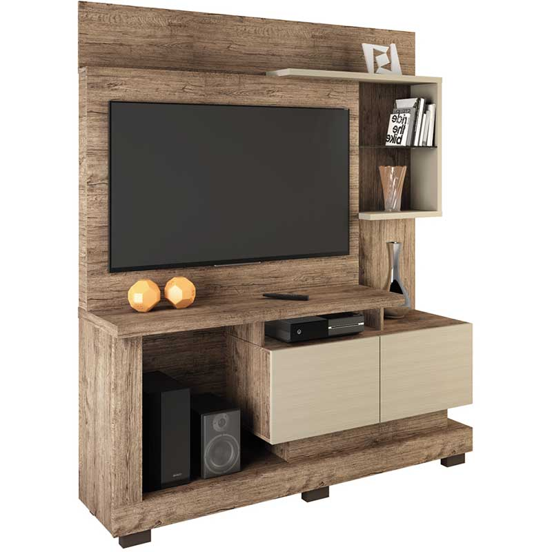 Estante Home Theater Turin - Linea Brasil