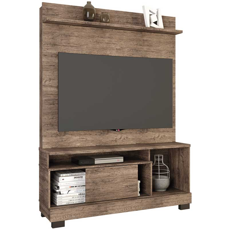 Estante Home Theater Hércules - Linea Brasil Naturale