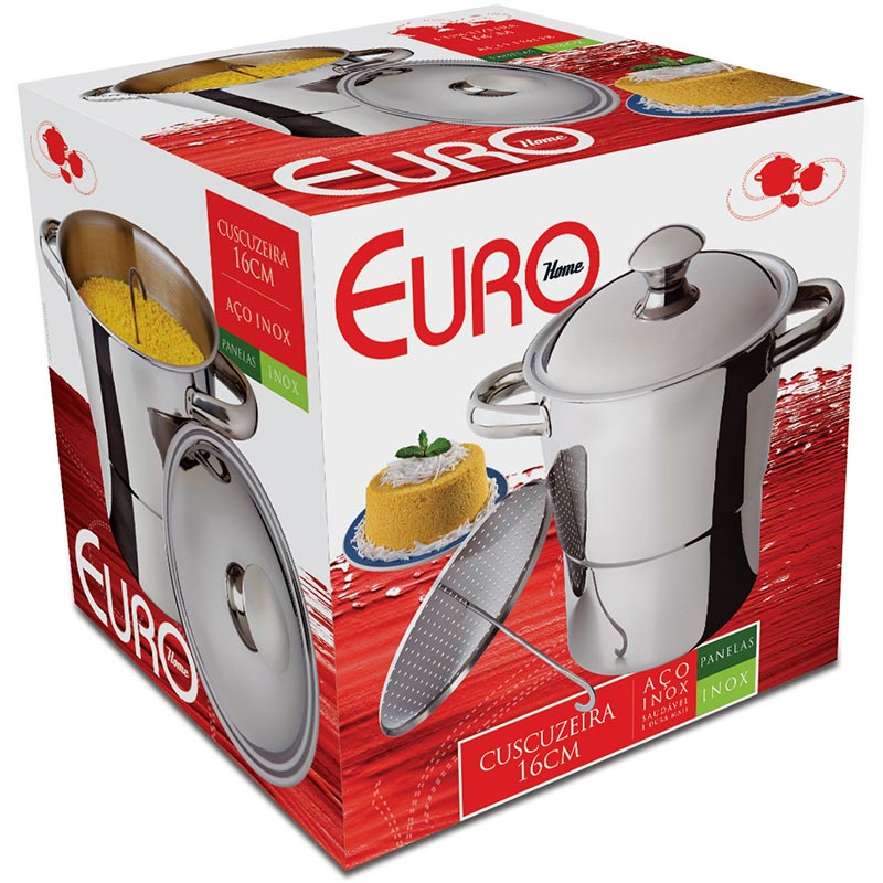 Cuscuzeira IN7075 - Euro Home Inox