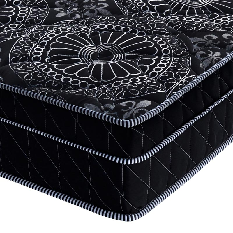 Cama Box Queen Springs Black - Probel