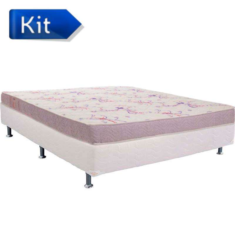 Cama Box Casal Physical Super Resistente - Ortobom