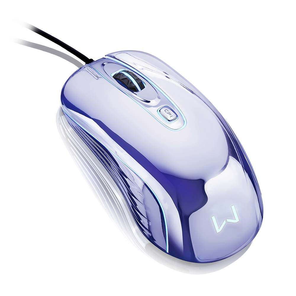 Mouse Gamer Chrome Warrior Usb 1600Dpi Multilaser - MO228 - Padrão