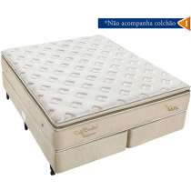 Box Soft Bambu King 193X203 - Americanflex - Bege