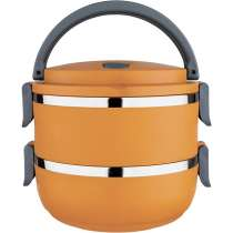 Marmita Lunch Box 1,4L - Euro Home - Laranja
