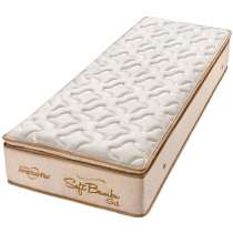 Colchão Solteiro Pillow Top Soft Bambu Gel One Face INMETRO 175.023/16 - Americanflex - Bege
