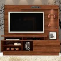 Estante Home Theater Vicente - Madetec Castanho