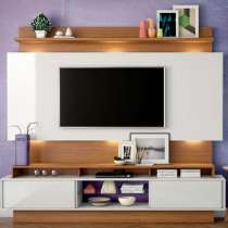 Painel Com Led TB113L - Dalla Costa Off white/freijo