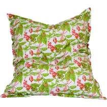 Puff Almofadão Acquablock - Stay Puff Verde floral