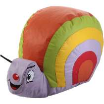 Puff Caracol Infantil - Stay Puff Colorido