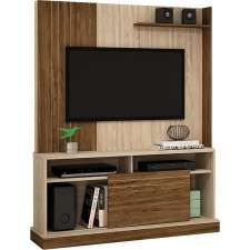 Estante Home Theater Lótus - Colibri Teca/nogal