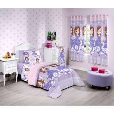 Edredom Solteiro Sofia Sweet - Santista Disney Light