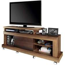 Rack Dallas - Linea Brasil Capuccino wood/ebano