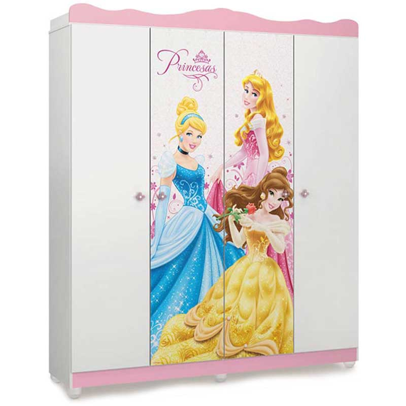 Guarda-Roupa Disney Princesa Star - Pura Magia